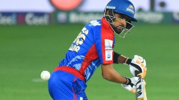 Babar Azam represents the Karachi Kings in the HBL PSL.